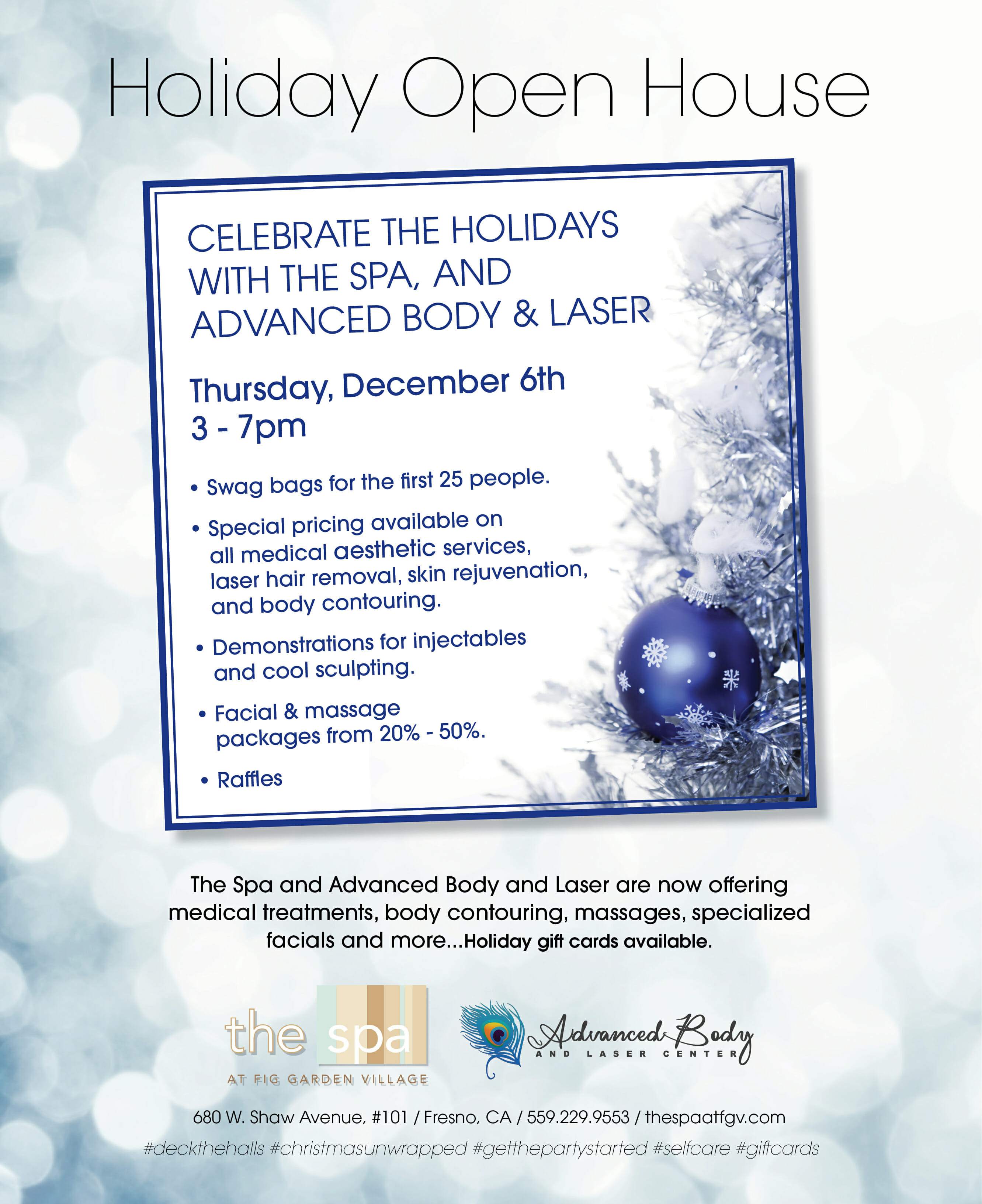 Holiday Open House 2018
